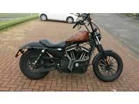 Harley Davidson custom Iron 883