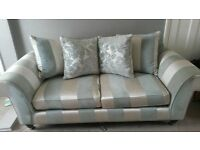 laura Ashley 3 seater sofa and armchair