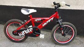 """Boys 16"""" wheel bike"""