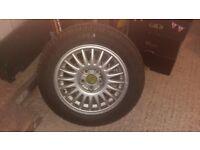 Unused PIRELLI 185/65 R15 88 Tyre + Volvo Alloy Wheel
