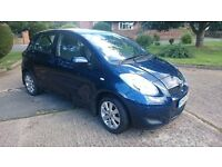 Toyota Yaris 1.33L, LOW MILEAGE, MOT JULY 17, FULL TOYOTA SERVICE HISTORY, PARKING SENSORS, AIR CON