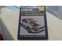 Vauxhall/Opel Omega 1994 to 1999: Owners Workshop Manual