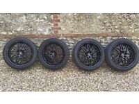 "20"" Inch Black Oxigin Alloy Wheels and Tyres"