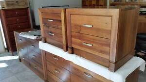 Tasmanian Blackwood - 2 bedsides & 2 chests of drawers - BARGAIN! Surfers Paradise Gold Coast City Preview