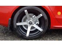 """avant gardes handsome alloy wheels 19""""; audi vw seat s line rs 4 Quattro"""