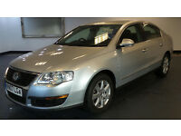 2007 07 VOLKSWAGEN PASSAT SE 2.0 TDI SILVER MOT 06/17(PART EX WELCOME)***FINANCE