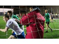 5-a-side football teams wanted for our Marylebone venue