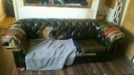 3 seater chesterfield. ... Free