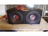 1000w per speaker twin sub kenwood dnb with 1000w amp
