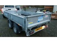 Ifor Williams tipper trailer 2013 3500kg