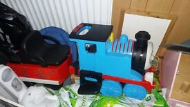Thomas the tank electric ride on with track