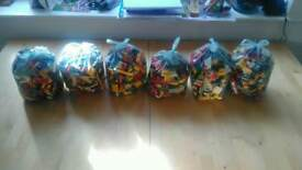 1kg bag of lego