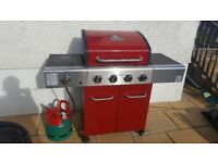 Outback Apollo 4-Burner Gas BBQ