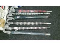 Tartan Design Umbrellas Available Wholesale Quantity for Traders Shops Retailer