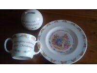 Royal Doulton Christening china