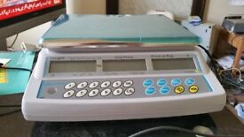 Weighing Scale for retail, butcher, green grocery shop EPOS +Barcode printer