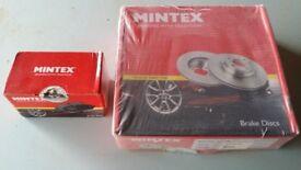 New Mintex pads & discs, Peugeot 208