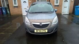 2010 Vauxhall Meriva silver colour genuine low mileage excellent condition Ac,Cd Bluetooth etc