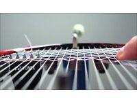 Badminton racket/racquet restringing/stringing