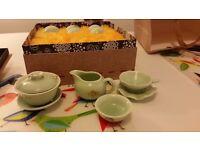 Oriental tea set - NEW