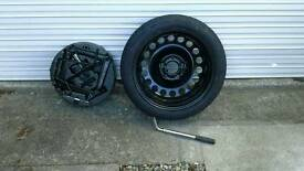Vauxhall Astra 2010-15 Spare Wheel Kit