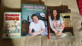 3 recipe books