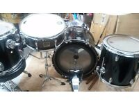 Drums (sonor and Evans) plus others ( can make up a full drum kit )