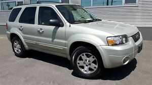 2005 Ford Escape Limited AWD +Cuir, Toit, Hitch+