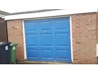 Used up and over garage door