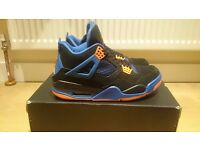 NEW AIR JORDAN IV 4 CAVS SIZE 8 ORANGE BLACK HYPERFUSE INDEPENDENCE DAY FEAR OREO BRED YEEZY CONCORD