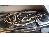 Custom SetUP-Pioneer - 2x Deck's CDJ800 MK2, Mixer CDM600 plus extra bit's & pieces