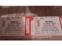 Tickets jean Michel jarre