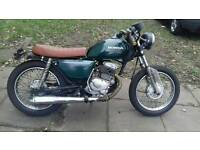 Honda cd 200 regerstier as 125cc cafe racer