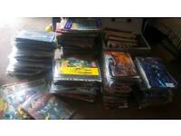 Approx 650+ comics and annuals