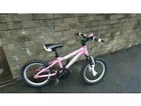 Girls carrera mountain bike for sale