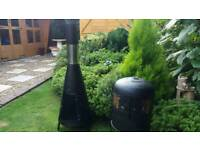 Garden .patio wood burners
