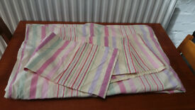 Ikea 100% Cotton Embroidered Single Duvet Set with Two Oxford Pillowcases