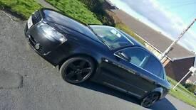 Audi A4 sline black diesel 1.9