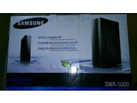 Hi for sale Samsung swa5000 wireless set like new with box! can deliver or post! Thank you