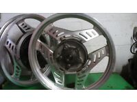 honda cbx 550 wheels inboard disc set classic vgc