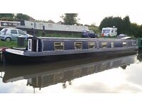 "63ft semi trad Narrowboat ""Perrys Luck"" with mooring in Warwichshire"