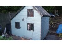 Children's 8' x 6' Wendy House for removal charity donation to MCR appeal