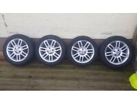 "MG ZR/ZS ROVER 25/45 16"" gridspoke alloy wheels"