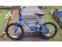 18 inch blue bike