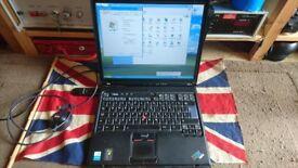 IBM T40 ThinkPad Intel M 1300MHz 256MB RAM 40GB HDD Windows XP SP3
