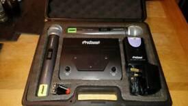 Prosound Twin Handheld, Headset & Tie Clip Mic Kit