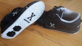 Black Roller Shoes