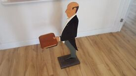 DUMB WAITER STATUE IDEAL FOR CAFE RESTRAUNT ETC