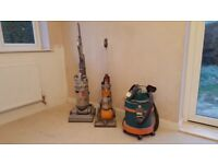 2 Dysons and a VAX - for spare parts or attempt repair