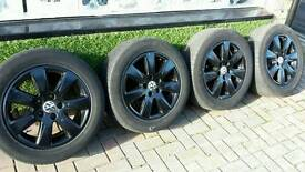 4 vw alloys 5 stud 15 inch